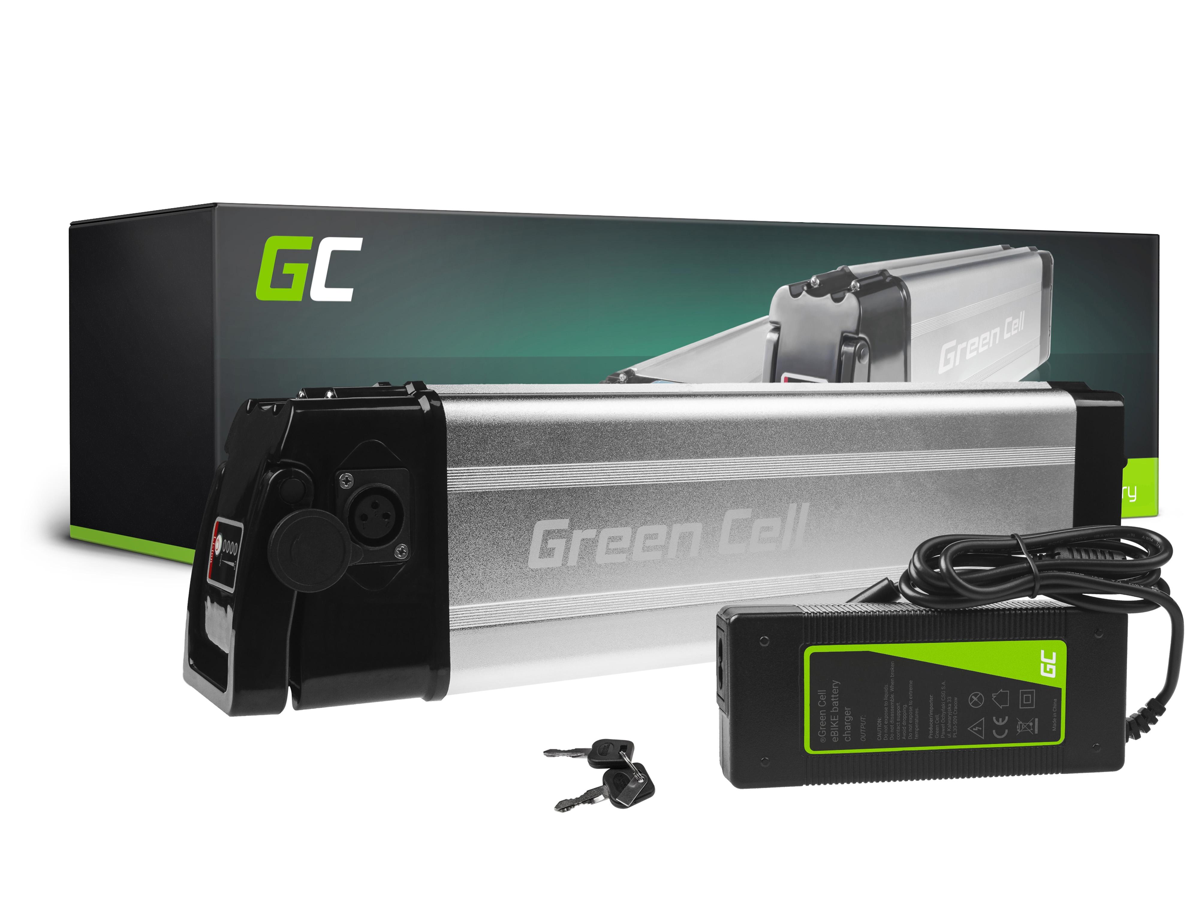 Green Cell Baterie Silverfish 36V 11Ah 396Wh Silverfish pro E-Bike Pedelec