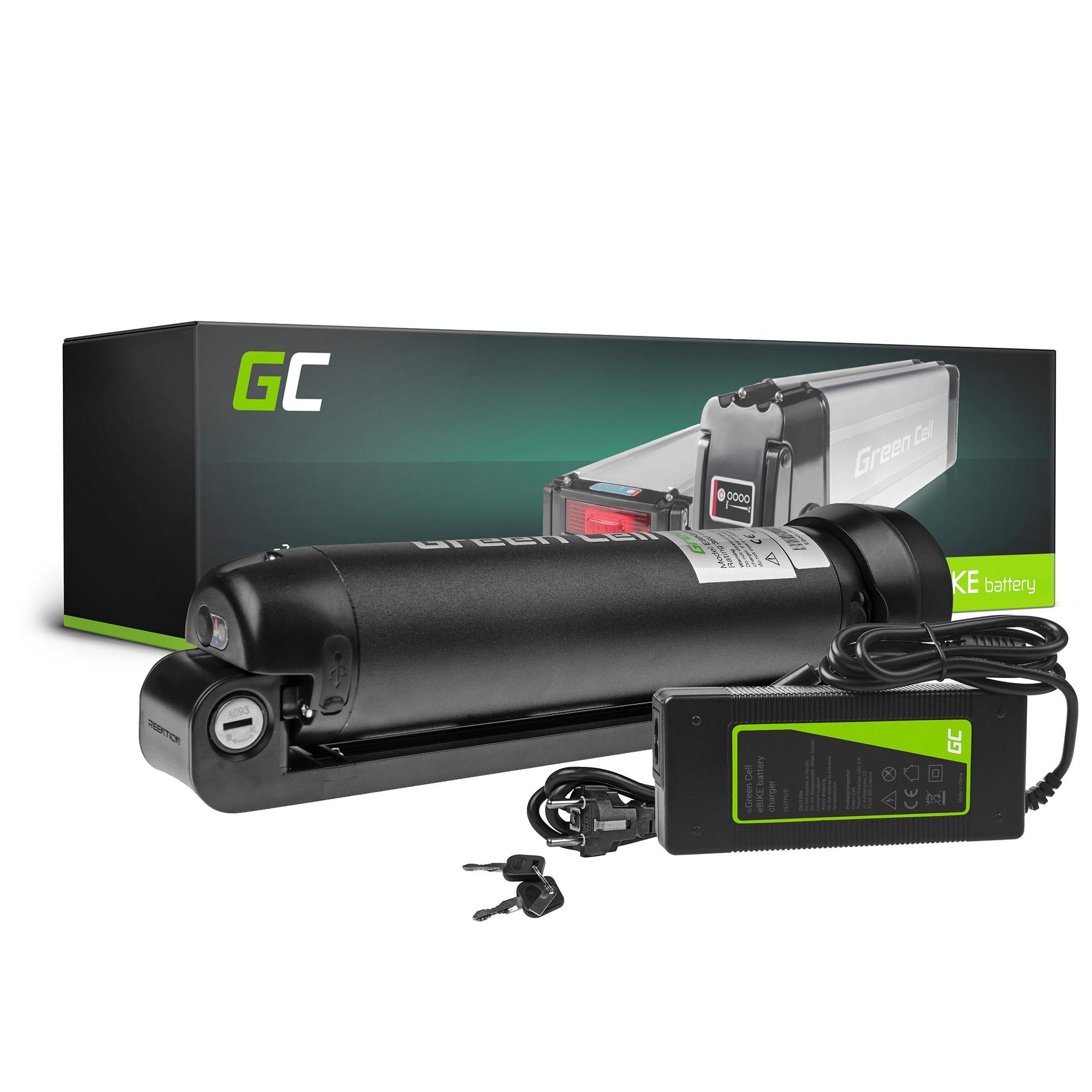 Green Cell E-Bike Baterie 24V 7.8Ah Li-Ion Bottle and NabíječkaElectric Bicycle