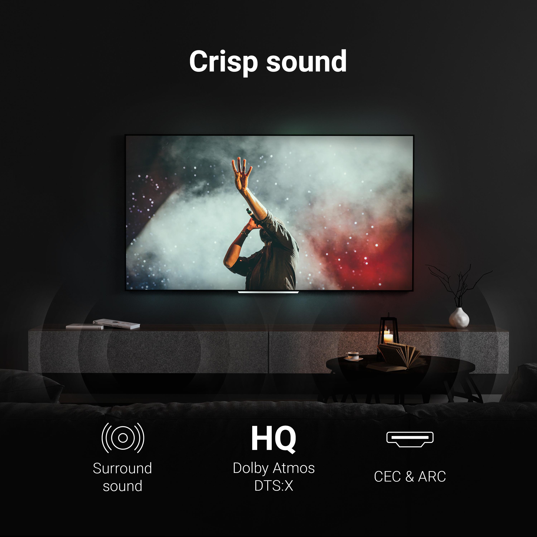 Green Cell kabel GC StreamPlay HDMI - HDMI 2.0b 1.5m s podporou 4K 60 Hz