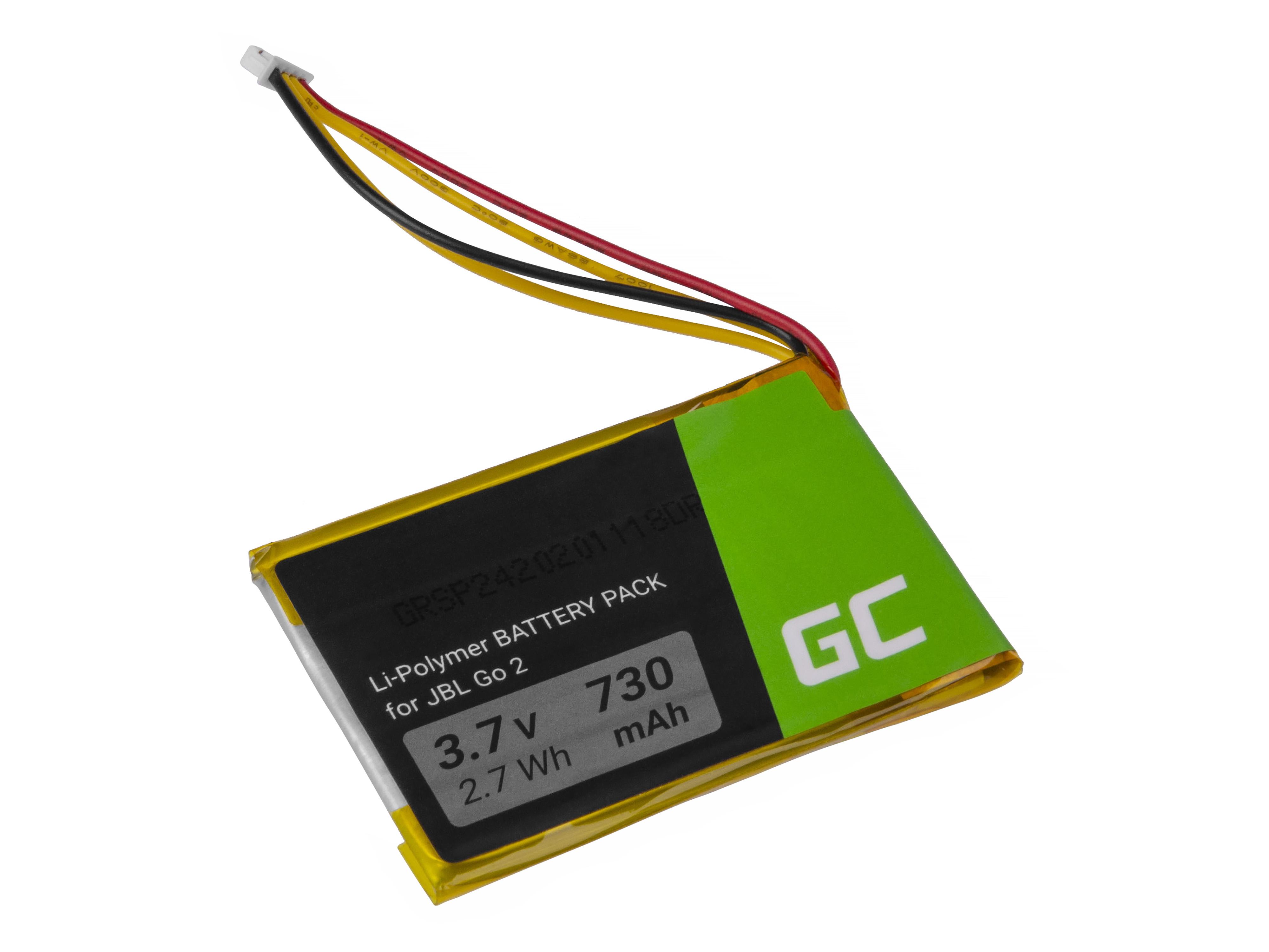 Green Cell Baterie JBL GO2 / MLP284154 PA-JBL21 pro Bluetooth reproduktor JBL Go 2 Go 2H, 730mAh - Li-Ion – neoriginální