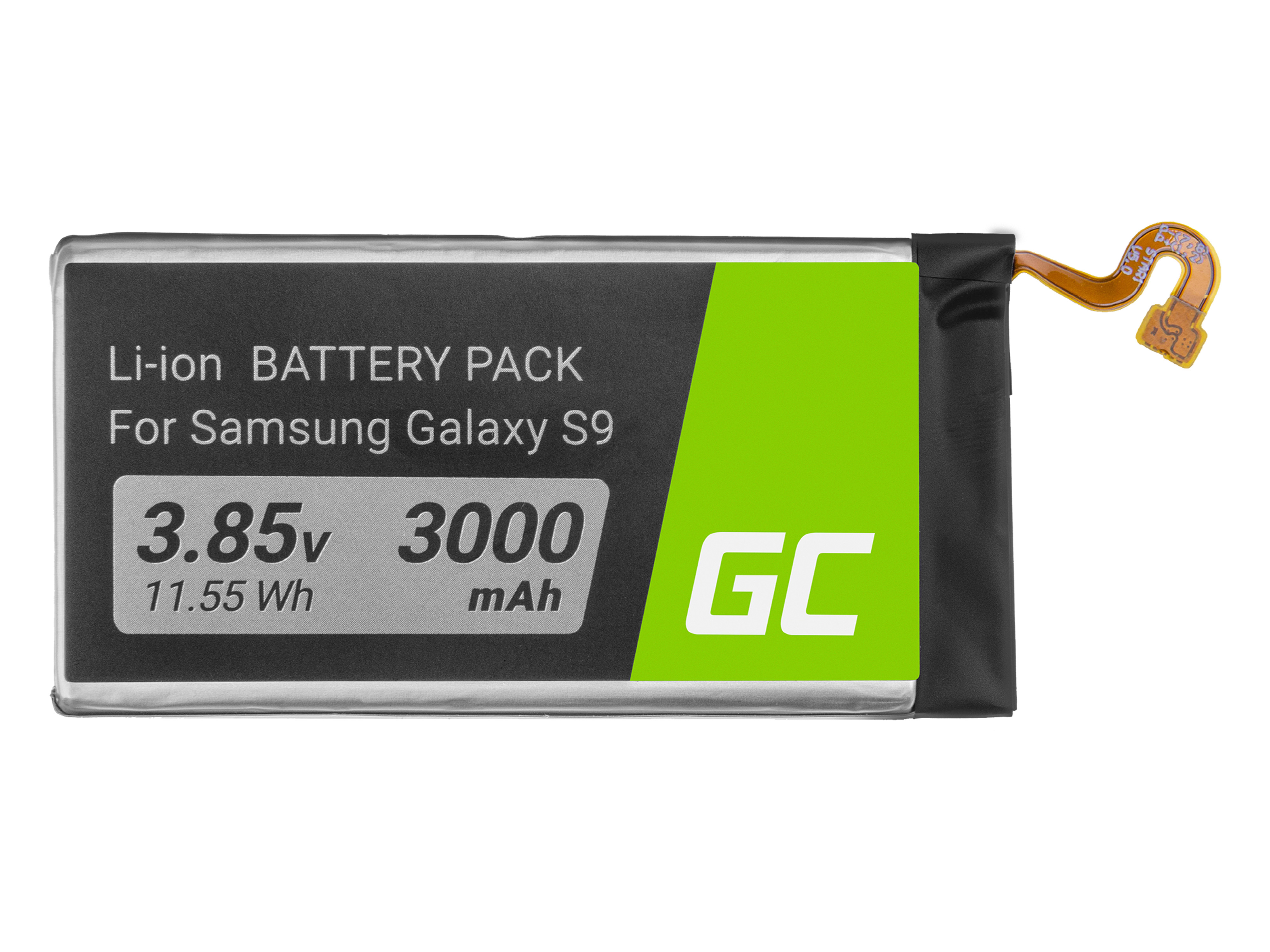 Green Cell Phone Battery EB-BG960ABE for Samsung Galaxy S9 SM-G960