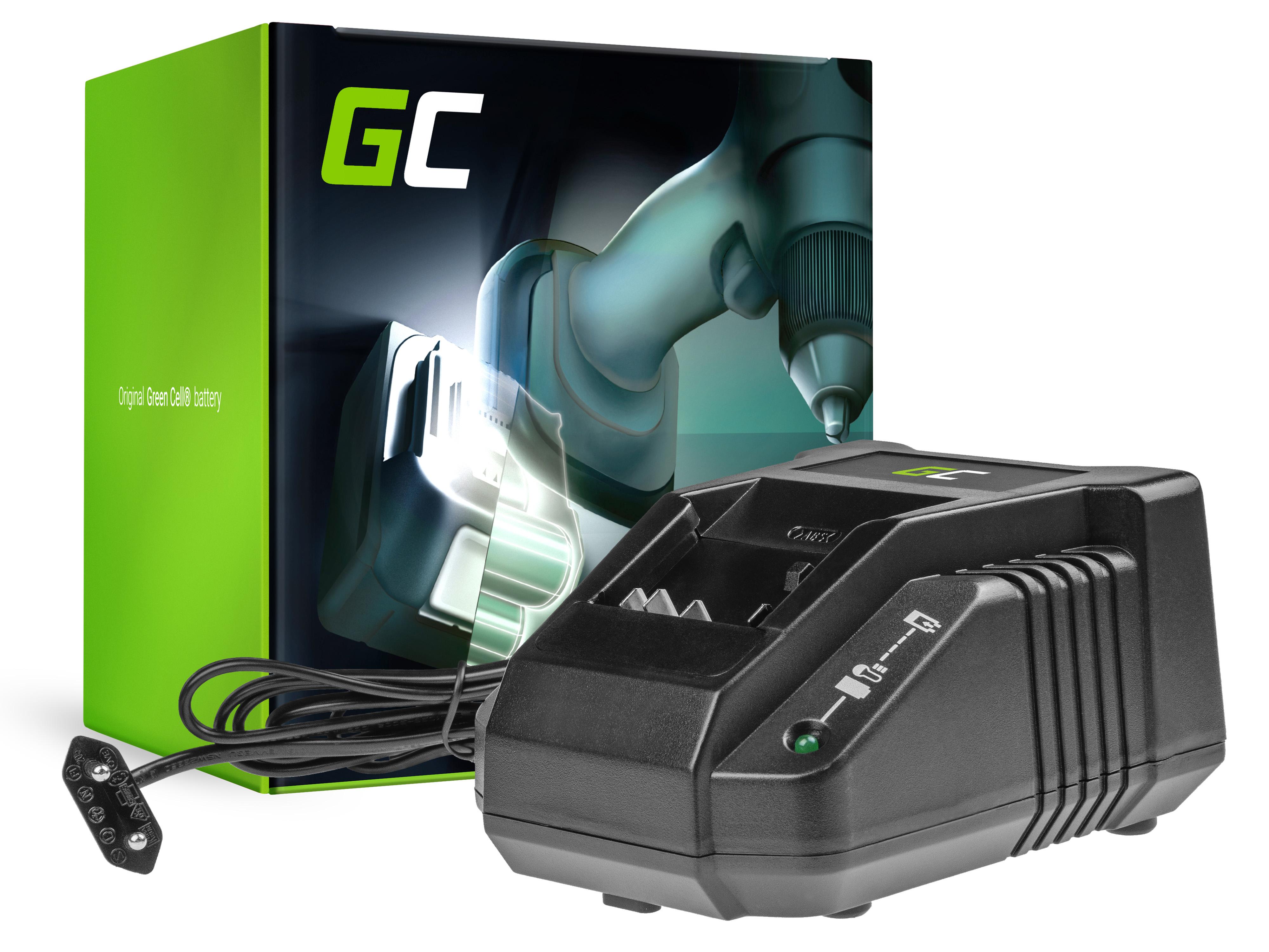 Green Cell CHARGPT27 Nabíječka pro Bosch AL1860CV GAL1880CV, Bosch BAT609 BAT618 BAT620 BAT621 BAT622 GAS18V FNH180-16 14.4V-18V